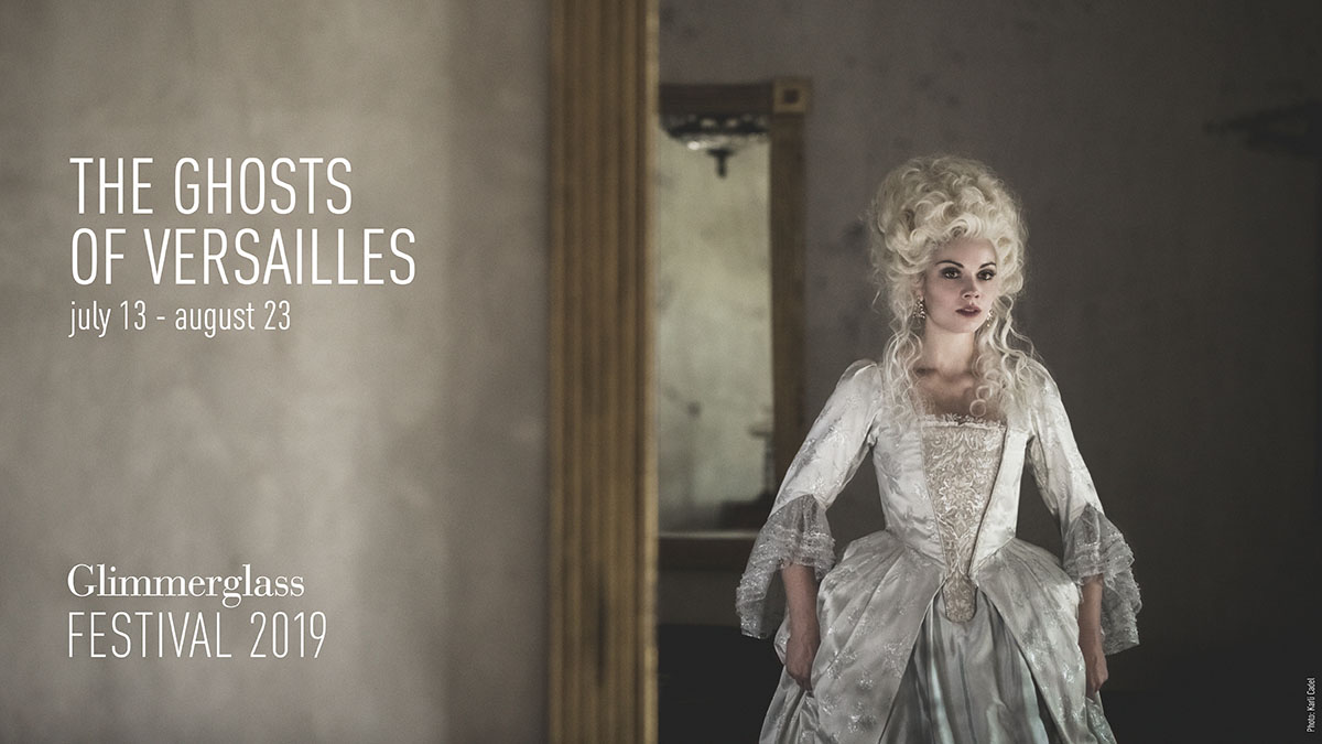 The Ghosts of Versailles promotion graphic.