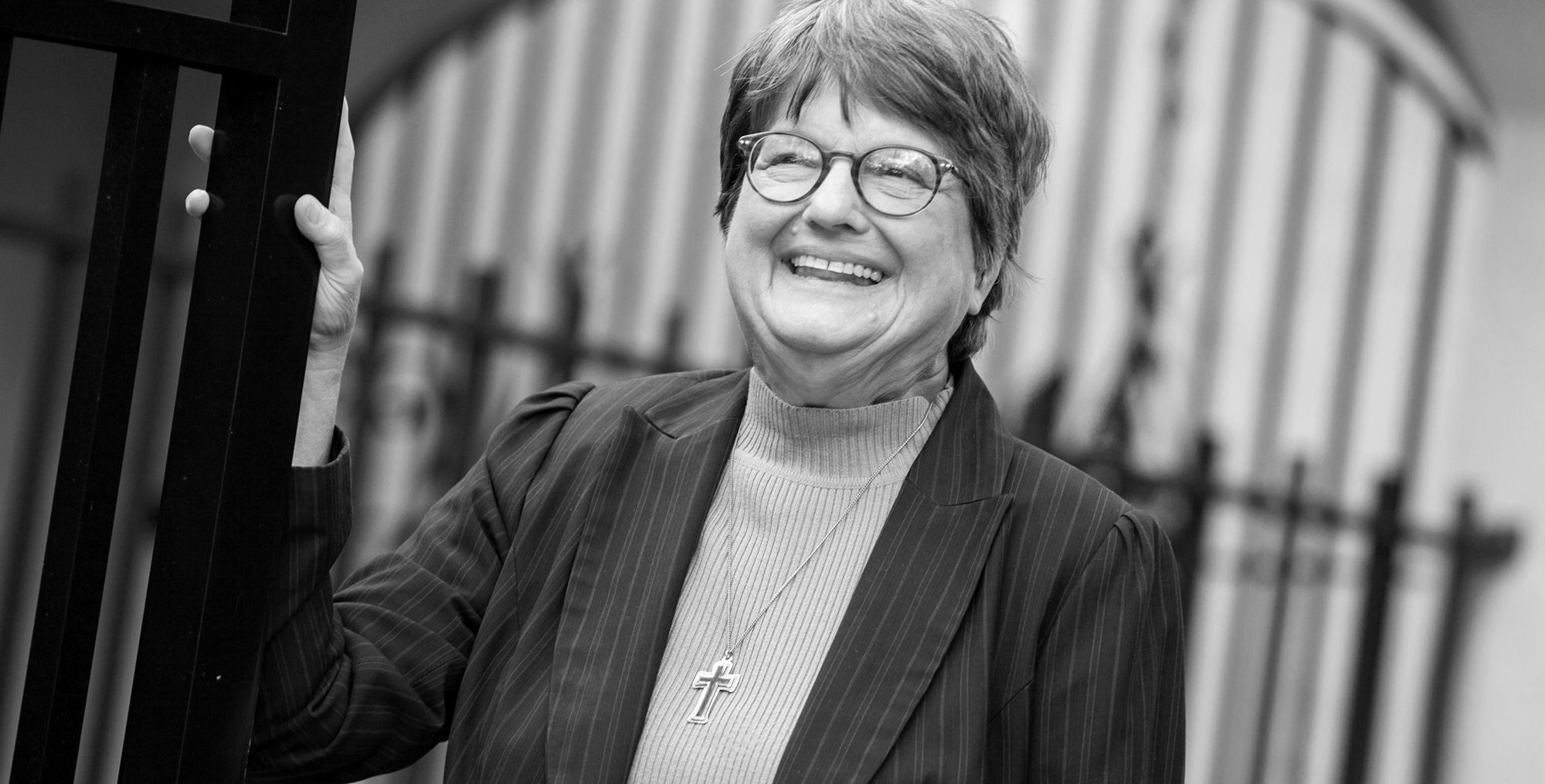Portrait of Sister Helen Prejean. Photo: Scott Langley