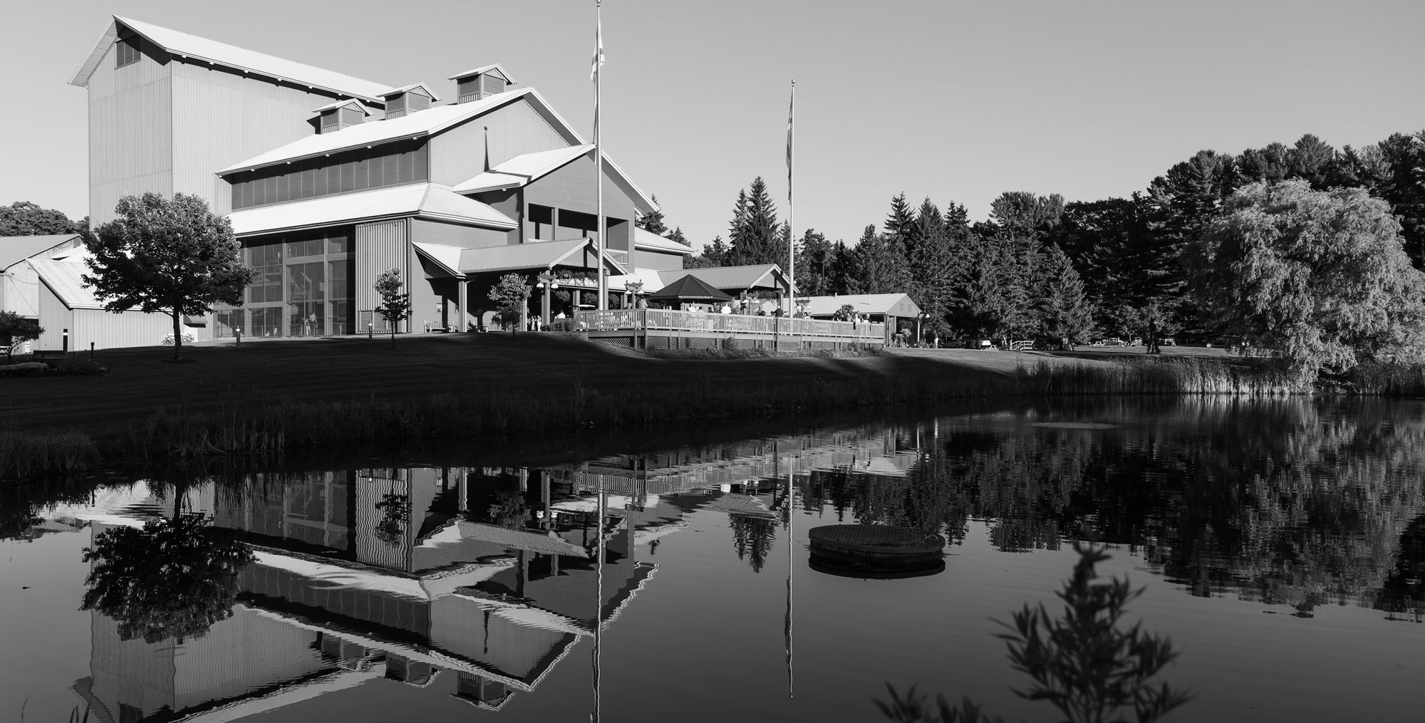 Photo of the Alice Busch Opera Theater in daylight. Photo: Karli Cadel