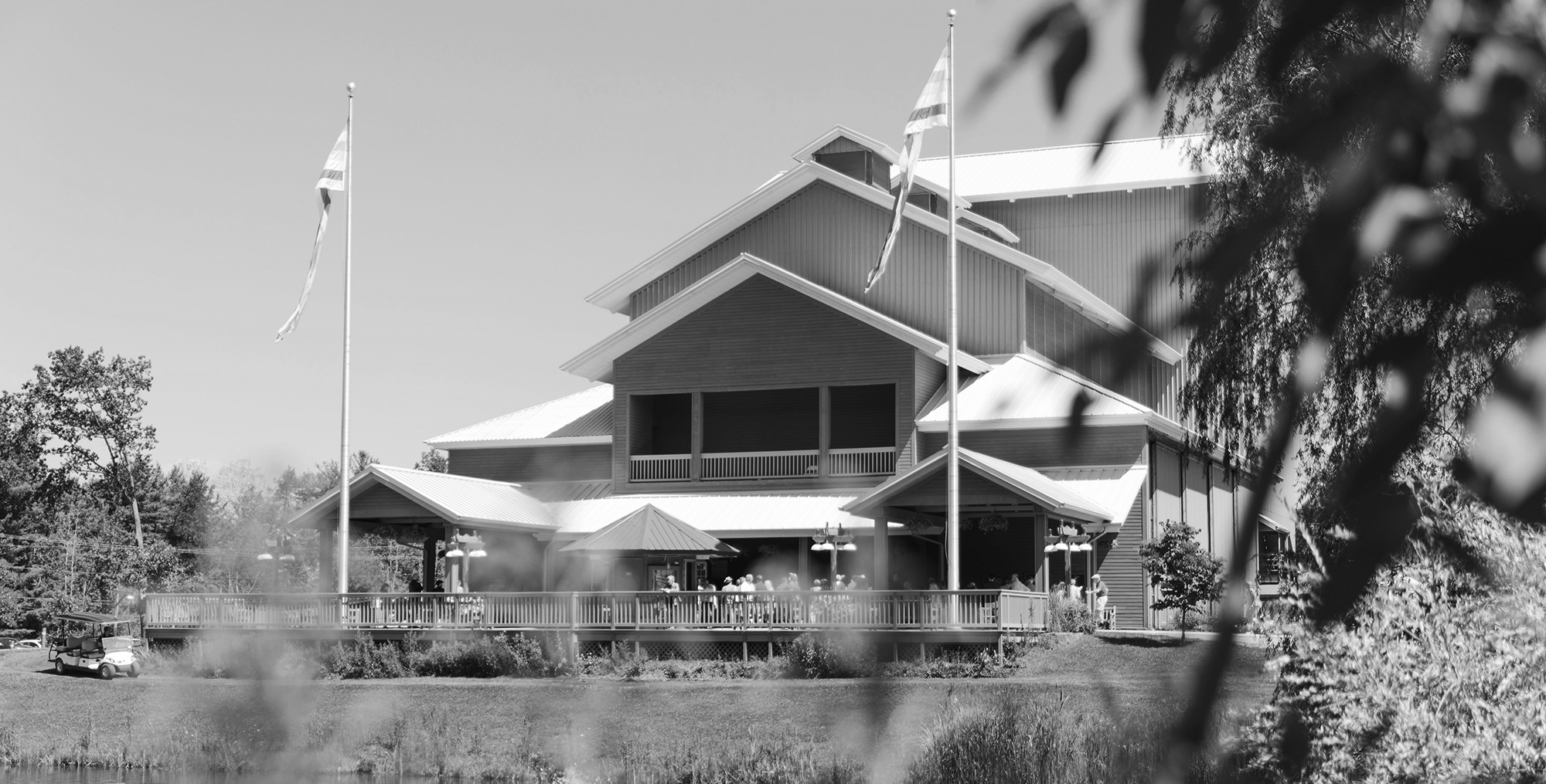 Photo of the Alice Busch Opera Theater in daylight. Photo: Karli Cadel